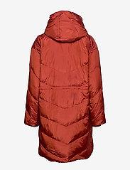 Masai - Tuala coat - padded coats - red ochre - 2