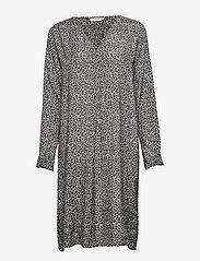 Masai - Norana dress - krótkie sukienki - black org - 2