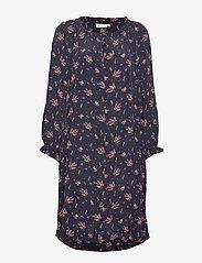 Masai - Noga dress - sukienki do kolan i midi - violet org - 0