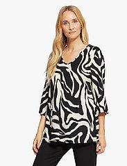 Masai - Kata - bluzki z długimi rękawami - black - 0