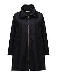 Tanna coat oversize - BLACK