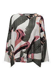 Dox top oversize 3/4 slv PA - ROSYBROWN ORG