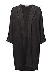 Jarmis jacket straight 3/4 slv - STONE