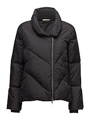 Tussa coat A-shape - BLACK