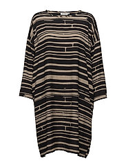 Noa dress - KHAKI ORG