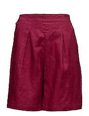 Paula shorts - BEETROOT
