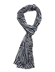 Along scarf - NAVY ORG