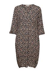 Nakato dress - ORANGE ORG