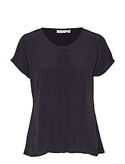 Ia blouse - BLACK