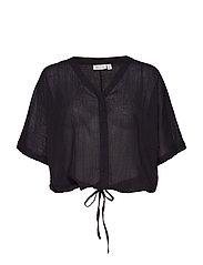 Ilona blouse - BLACK