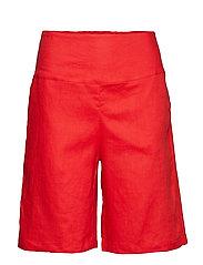 Pinja shorts - POMEGRANATE