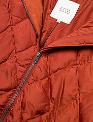 Masai - Tonya coat - wyściełane płaszcze - red ochre - 3