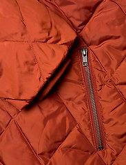Masai - Tonya coat - wyściełane płaszcze - red ochre - 4