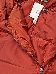Masai - Tuala coat - padded coats - red ochre - 3
