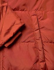 Masai - Tuala coat - padded coats - red ochre - 4