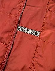 Masai - Tuala coat - padded coats - red ochre - 6