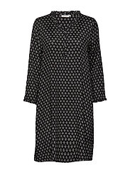Nita dress - BLACK ORG