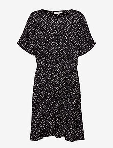 Nan - short dresses - black