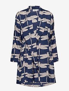 Jonna - kimonos - medieval blue