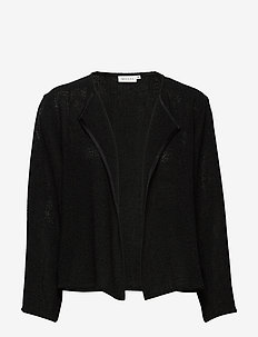 Julitta - swetry rozpinane - black