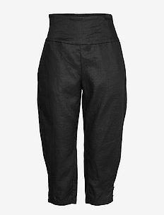 Pen - capri bukser - black