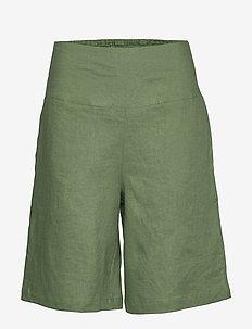 Pinja - bermuda-shortsit - elm green