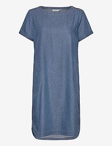 Nalani - jeansowe sukienki - l basic denim