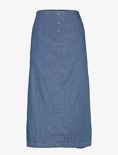 Sabina - jeansowe spódnice - l basic denim