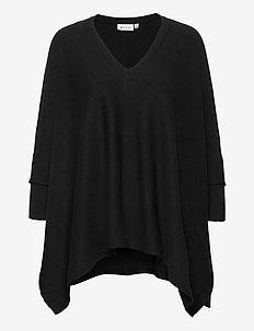 Fosna - swetry - black