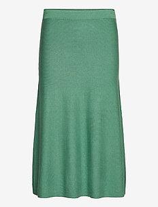 Stina - spódnice do kolan i midi - bottle green