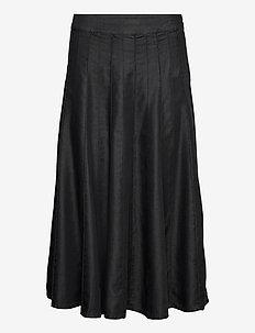Sonja - midi nederdele - black