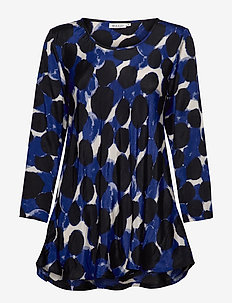 Kay - long-sleeved tops - clematis blue