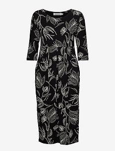 Nima - sukienki na codzień - black
