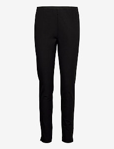 Poppy Regular - slim fit spodnie - black