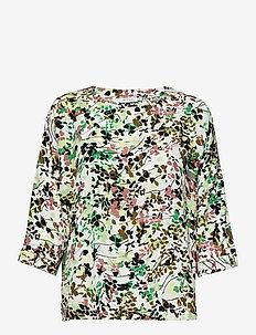 Becca - t-shirts - bottle green