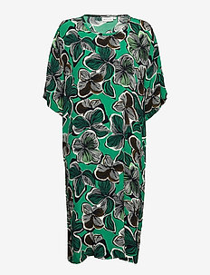 Nabi - sukienki na codzień - bottle green