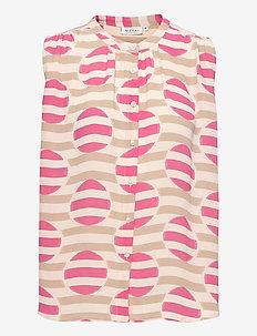 Idemi - Ærmeløse bluser - azalea pink