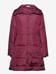 Thea coat - CLARET