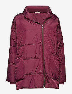 Tuffi coat - dynefrakke - claret