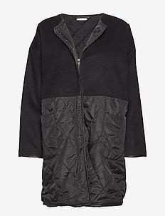Tammi coat - BLACK