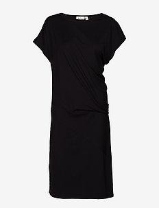 Ocean dress - BLACK