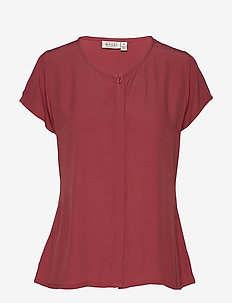 Ia blouse - BOYSENBERRY