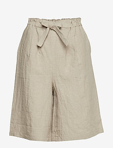 Patricia shorts - paper bag shorts - natural