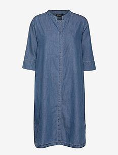 Nimes shirt dress - BLUE DENIM