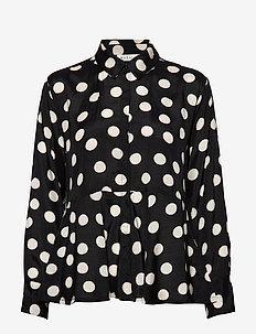 Itta blouse - BLACK ORG