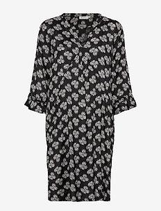 Nolene dress - BLACK ORG