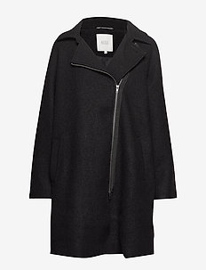 Tayla coat - BLACK