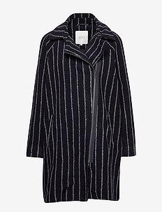 Tayla coat - NAVY ORG