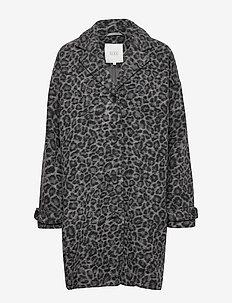 Tanya coat - GREY ORG