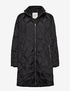 Tonya coat - BLACK